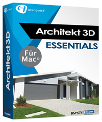 Architekt 3D 2017 (V19) Essentials für Mac